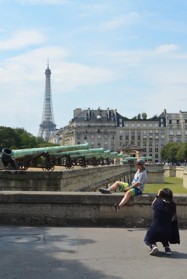 the iron lady of paris